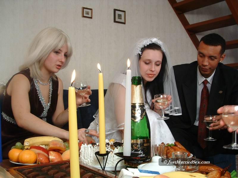 Orgy wedding sex party drunk